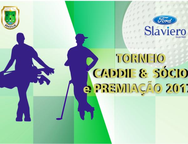 Torneio Caddie & Sócio e Premiação CGB 2017 – 10 de Dezembro de 2017