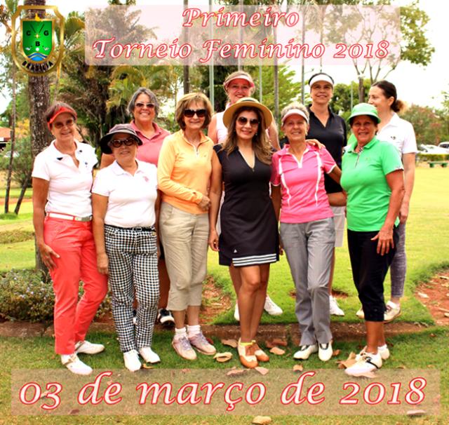 1º Torneio Feminino 2018