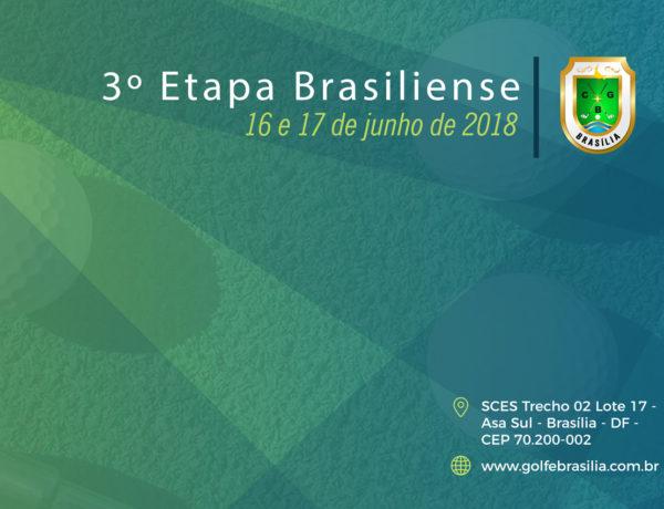 3º Etapa Brasiliense 2018 – Resultados