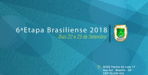6ª ETAPA BRASILIENSE 2018 (Resultados Finais)