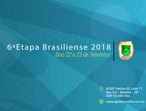 6ª ETAPA DO CAMPEONATO BRASILIENSE 2018