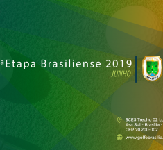 3ª ETAPA DO CAMPEONATO BRASILIENSE DE GOLFE 2019