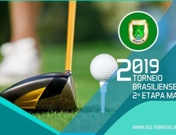 2ª ETAPA DO CAMPEONATO BRASILIENSE DE GOLFE 2019