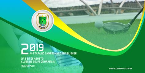 4ª ETAPA DO CAMPEONATO BRASILIENSE DE GOLFE 2019